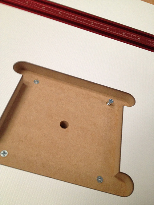 woodpecker drill press table