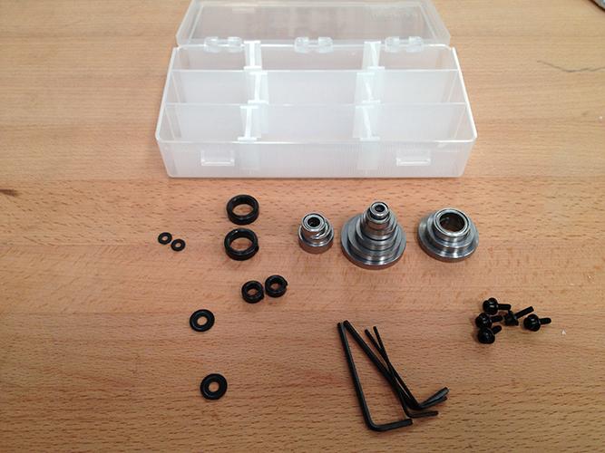 Router Bit Bearings Kit Router Bit Emergency Kit