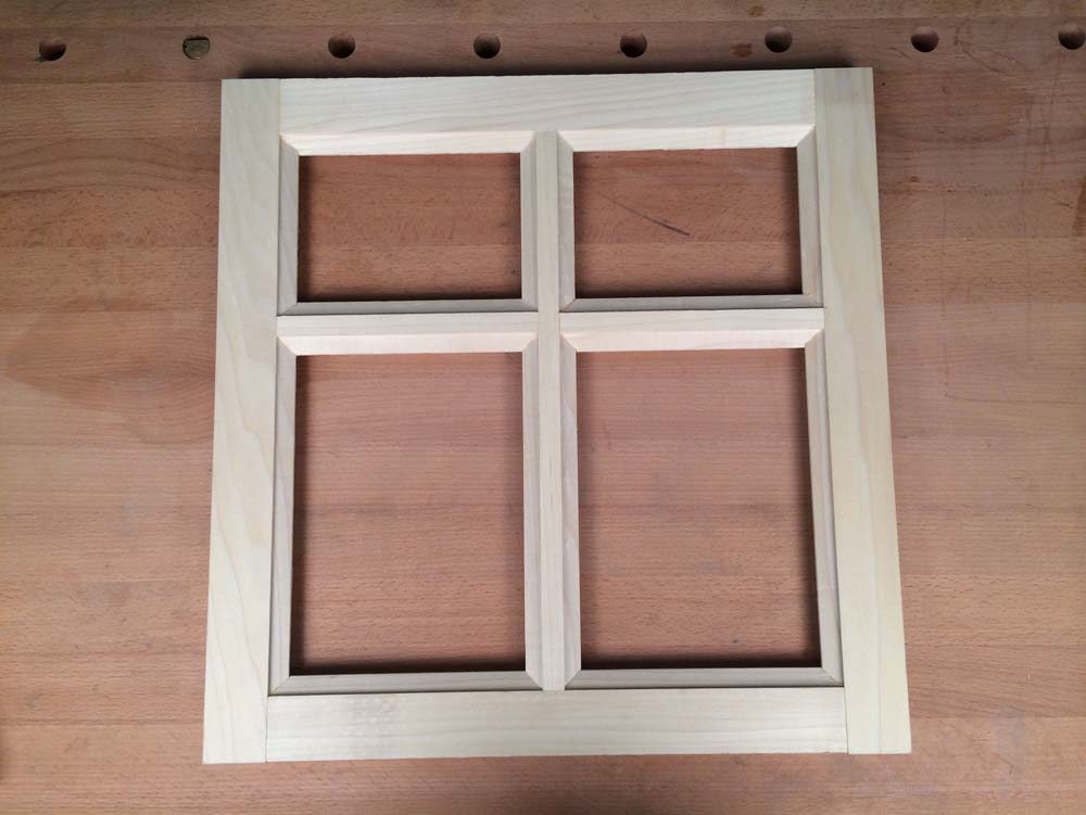 Easy division making a divided light cabinet door for Door rails and stiles