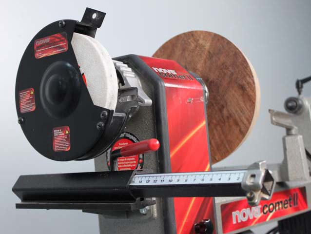 wood lathe tool sharpening