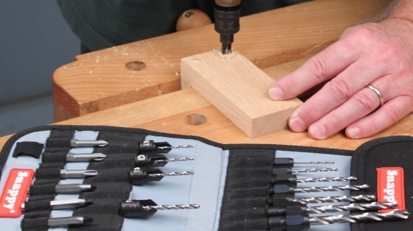 Infinity Tools 25-pc. Countersink & Quick-Change Drill Set