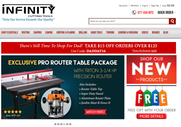 Infinity Cutting Tools New Web Site